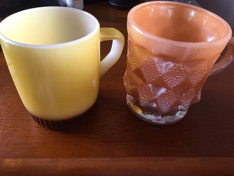 ファイヤーキング リブボトムマグ 黄/茶