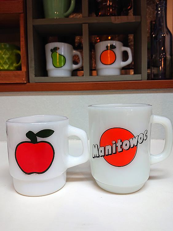 ファイヤーキング Manitowoc 9ozマグ、スーパーフルーツマグ アップル